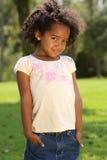 Het Kind van Afro Stock Afbeeldingen