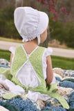 Het kind van Amish Royalty-vrije Stock Foto