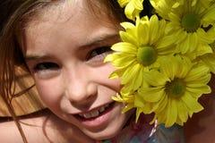 Het Kind van de bloem stock fotografie