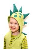 Het kind van de dinosaurus Stock Afbeelding
