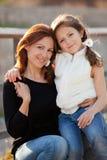 Het kind van de moeder Royalty-vrije Stock Fotografie