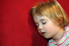 Het Kind van de slaap Royalty-vrije Stock Afbeelding