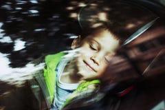 Het kind van de slaap Stock Fotografie