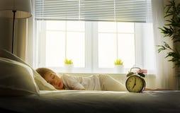 Het kind van de slaap Royalty-vrije Stock Foto