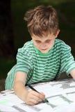 Het kind van de tekening stock afbeeldingen