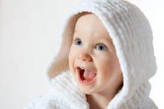Het kind van het geluk stock foto