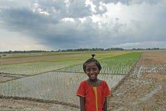 Het kind van het meisje in India Royalty-vrije Stock Fotografie