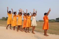 Het kind van het meisje in India Stock Fotografie