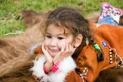 Het kind van het portret Stock Foto's