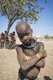 Het kind van Himba Stock Foto's