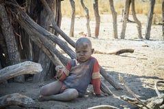 Het kind van Himba Royalty-vrije Stock Foto's