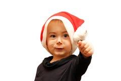 Het kind van Kerstmis Royalty-vrije Stock Foto's
