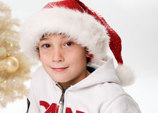 Het kind van Kerstmis stock foto's