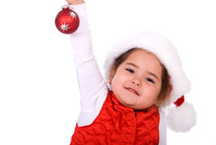 Het kind van Kerstmis. Royalty-vrije Stock Fotografie
