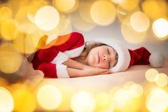Het Kind van Kerstmiskerstmis Vakantie de Winter Stock Foto's