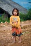 Het kind van Li van Sapa, Vietnam Stock Fotografie