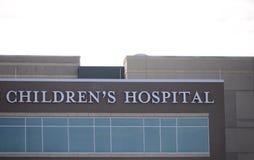 Het kinderen` s ziekenhuis stock afbeeldingen