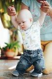 Het Kindjongen van de zuigelingsbaby Zes Maanden oud Royalty-vrije Stock Fotografie