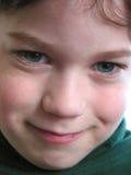Het kindportret van de jongen Stock Foto's