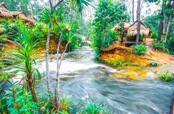 Is het Kirirom die Nationale Park op Kirirom-Berg in de Provincie Kambodja wordt gevestigd van Kampong Speu stock afbeelding