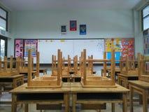 In het klaslokaal Royalty-vrije Stock Foto
