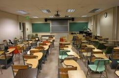 Het Klaslokaal van de school Stock Afbeelding