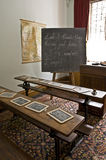 Het Klaslokaal van het Lanhydrockhuis Royalty-vrije Stock Foto