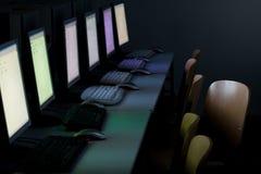 Het klaslokaalcomputers van de computer royalty-vrije stock foto's