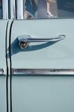 Het klassieke close-up van de autodeur Royalty-vrije Stock Fotografie