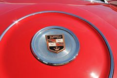 Het klassieke detail van de luxe americana auto stock foto's