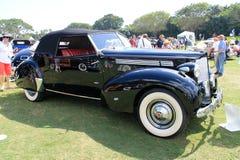Het klassieke detail van de luxe Amerikaanse auto Stock Foto's