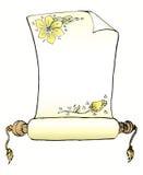 Het klassieke document van de broodjesbrief Royalty-vrije Stock Afbeelding