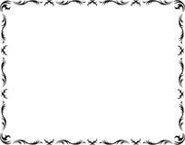 Het klassieke frame van het kunstwerk Royalty-vrije Stock Afbeeldingen