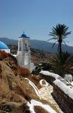Het klassieke Grieks & Palm Royalty-vrije Stock Fotografie