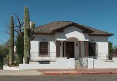 Het klassieke huis van Tucson royalty-vrije stock afbeeldingen