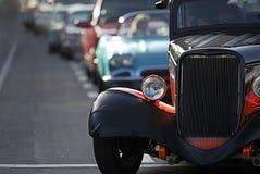 Het klassieke Kruisen van de Auto Stock Foto's