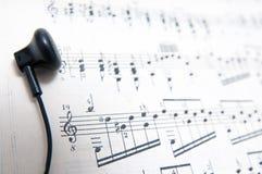 Het klassieke muziek luisteren Royalty-vrije Stock Fotografie