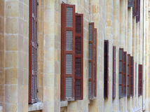 Het klassieke Ontwerp van het Blind, Beiroet (Libanon) Stock Afbeelding