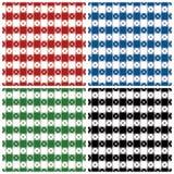 Het klassieke Patroon van het Tafelkleed Stock Afbeelding