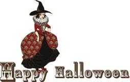 Het klassieke Uitstekende karakter van hallowen royalty-vrije stock afbeelding