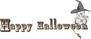 Het klassieke Uitstekende karakter van hallowen stock afbeelding