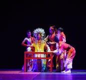 """Het kleden zich lijst-dans drama""""Mei Lanfang† Royalty-vrije Stock Afbeeldingen"""