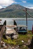 Het kleine dorp van Truyan royalty-vrije stock foto's