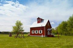 Het kleine Huis van het Landbouwbedrijf Stock Afbeeldingen