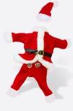 Het kleine kostuum van de Kerstman stock fotografie