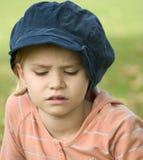 Het kleine meisje van de foto in een park Royalty-vrije Stock Fotografie