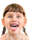 Het kleine Portret van het Meisje royalty-vrije stock foto's