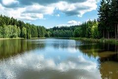 Het kleine reservoir van het waterwater Royalty-vrije Stock Foto
