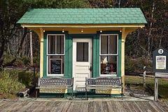 Het kleine station Royalty-vrije Stock Afbeelding