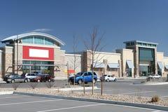 Het kleinhandels Centrum van de Strook Royalty-vrije Stock Afbeeldingen